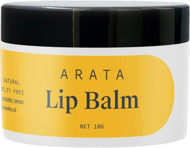 ARATA Lip Balm Cocoa & Mango Butter
