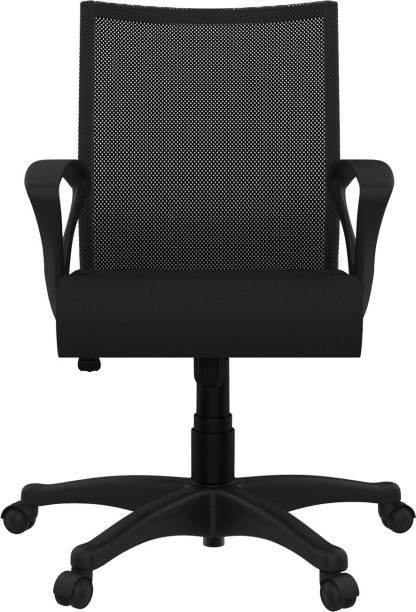 Godrej Interio Oxbo Mid Back Fabric Office Arm Chair