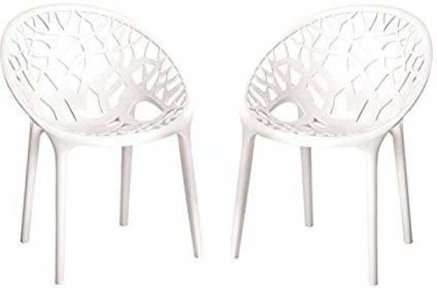 Nilkamal Crystal PP Plastic Cafeteria Chair