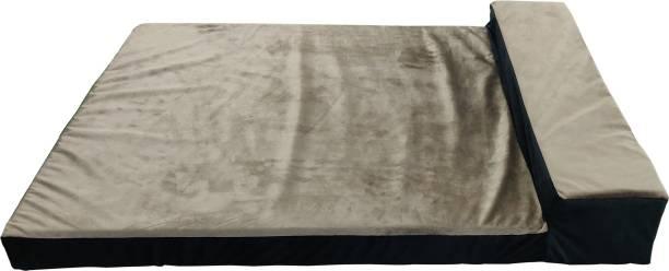 Dogerman Luxurious Durable Holland Black Brown Dog Cat Pet Flat Sofa Bed Medium M Pet Bed