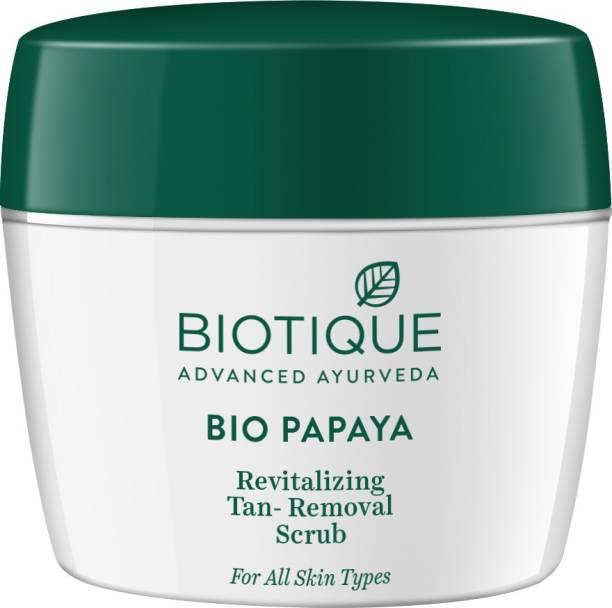 BIOTIQUE Bio Papaya Revitalizing Tan-Removal Scrub 235Gm Scrub