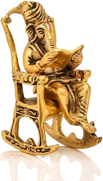 Sparsh Collection Chair Ganesha 10102020 Decorative Showpiece  -  15.24 cm