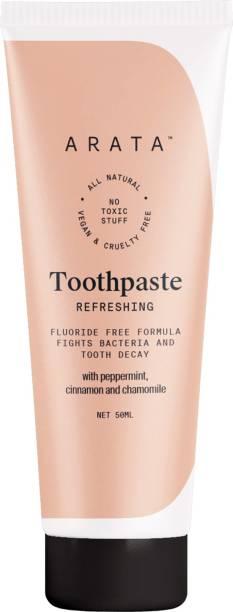 Arata Zero Chemicals Toothpaste-50ml Toothpaste