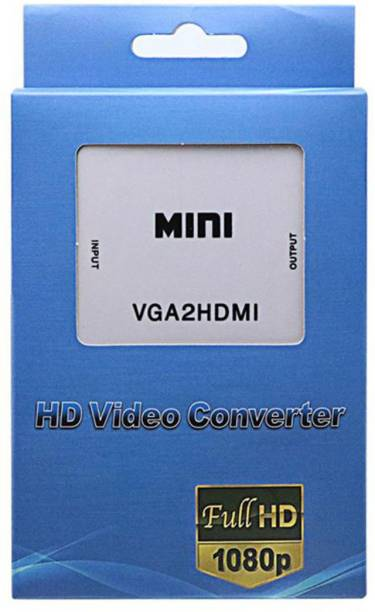 HL Technology  TV-out Cable VGA to HDMI Converter 1080P VGA2HDMI Adapter with Audio For PC Laptop DVD