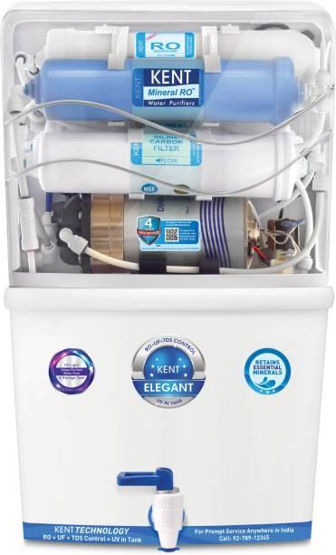 KENT ELEGANT 8 L RO + UV + UF + TDS Water Purifier