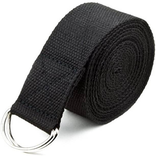 Draven CSTRAPBLK0912 Cotton Yoga Strap