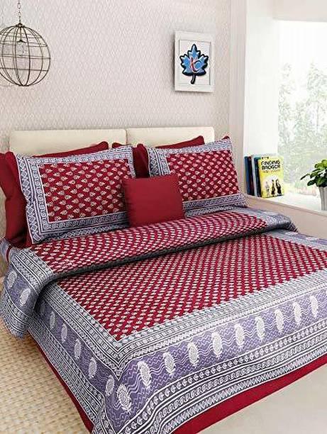 ABHISHEK FASHION 150 TC Cotton Double Printed Bedsheet