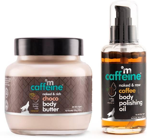 MCaffeine Coffee-Choco Intense Moisturization Set - Pre & Post Shower
