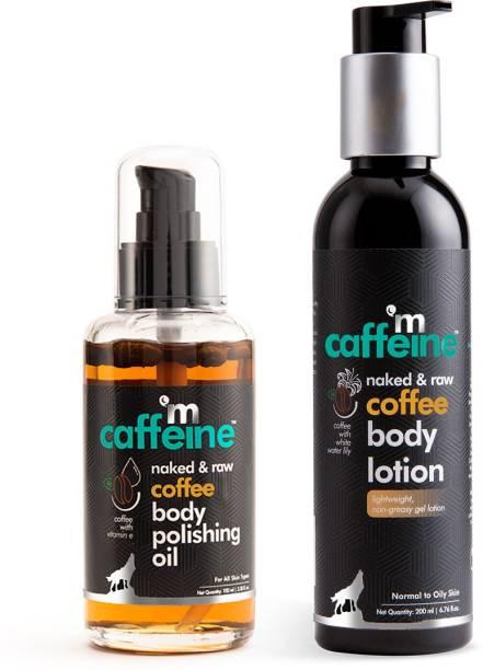 MCaffeine Double-up Moisturization Set - Pre & Post Shower