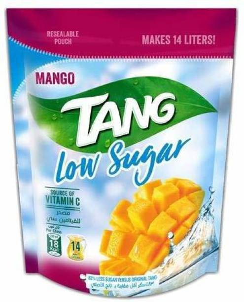 TANG Mango Low Sugar Drink Mix Packet, 350g Energy Drink