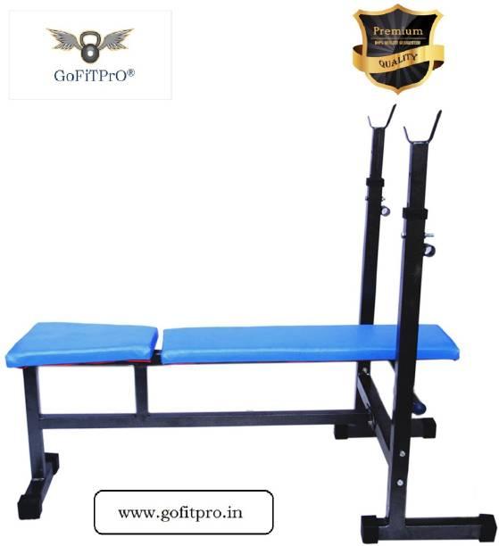 GoFiTPrO GoFiTPrO 3 in 1 SiNGLE SUPPORT EXCERCISE BENCH Multipurpose Fitness Bench
