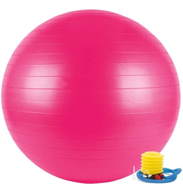 krenz High Quality 65 cm Gym ball for Exercise and yoga with foot pump Gym Ball