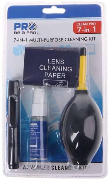 Digiom Cleaning Kit for DSLR Camera , All Digital & Film Camera Lenses, Binoculars & LCD Screen ( 7 IN 1) Cleaning Kit  Lens Cleaner