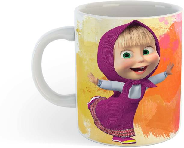 BuyAmaze Cute Baby Doll Design for Kids Ceramic Coffee Mug