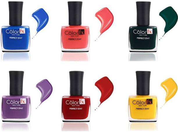 Color Fx Love is Love Nail Enamel Pack Multi Color