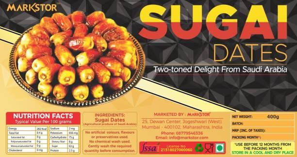 Markstor Sugai Dates - Two-Toned Sweet Delight from Saudi Arabia Dates
