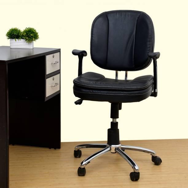 Rastogi Revolving Ergonomic Office Chair Leatherette Office Executive Chair