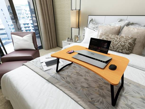 Astra Ply Wood Portable Laptop Table