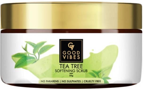 GOOD VIBES Tea Tree Softening  Scrub