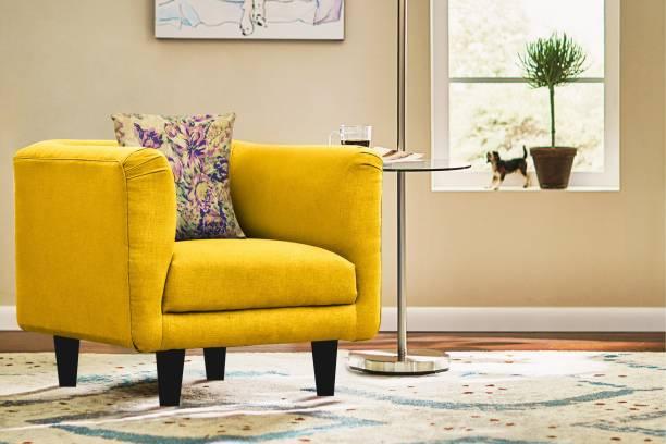 Febonic Fabric 1 Seater  Sofa