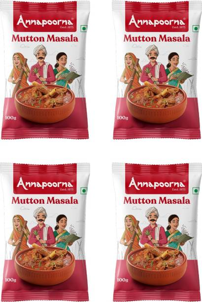 Annapoorna Mutton Masala 100gms Pack of 4