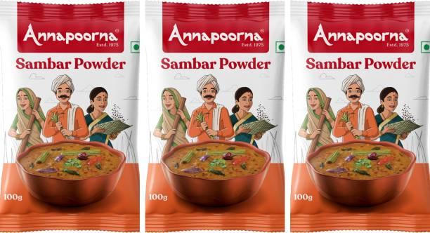 Annapoorna Sambar Powder 100gms Pack of 3