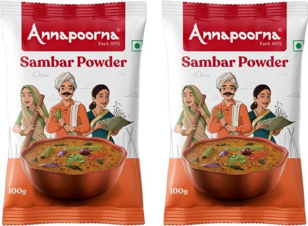 Annapoorna Sambar Powder 100gms Pack of 2