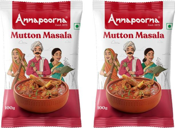 Annapoorna Mutton Masala 100gms Pack of 2