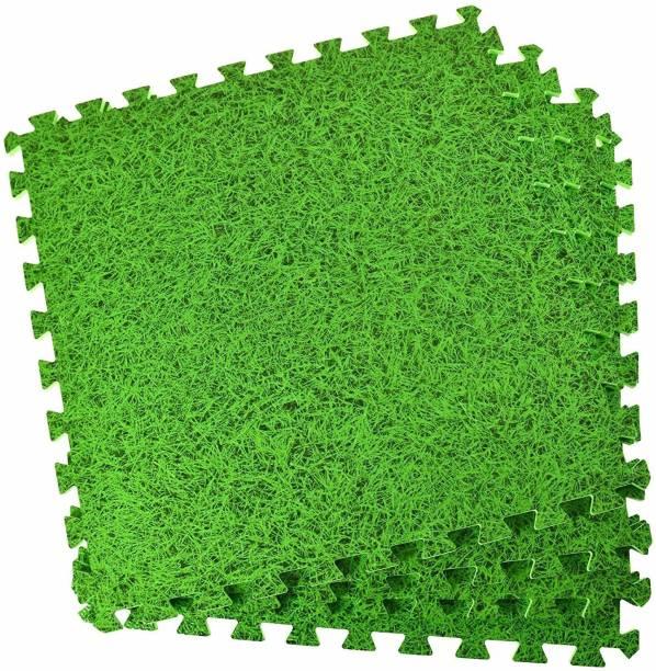 IRIS Gym EVA Foam Floor Mat Tiles (160 sq. ft.) Green 10mm mm Exercise & Gym Mat