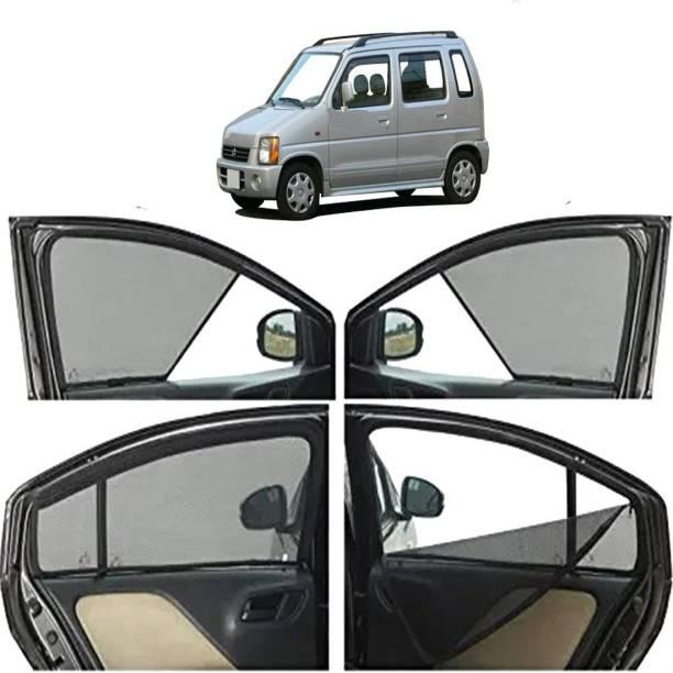 Pinnacle Enterprises Side Window, Rear Window Sun Shade For Maruti Suzuki Wagon R 1.0