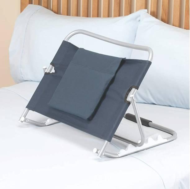 S.N Plus Adjustable Hospital Back Rest for Use on Bed or Back Support (Blue) Back & Abdomen Support