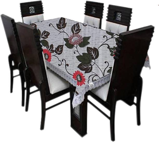 KingMatters Floral 8 Seater Table Cover