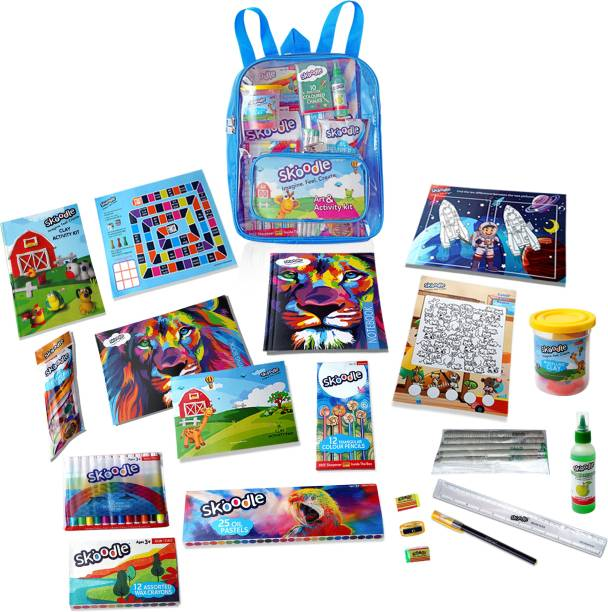 SKOODLE Activity Series- Art Set