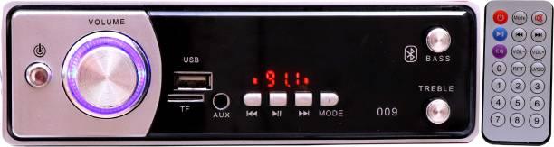 Flipkart SmartBuy FSB-009Silver BLUETOOTH/USB/SD/AUX/FM/MP3 Car Stereo ( Single Din) Car Stereo