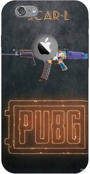 Snapcrowd Back Cover for Apple Iphone 6 logo cute Pubg Scra-l Gun back cover