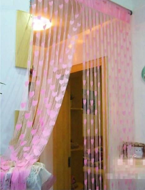 DTODEXPRESS 213.3 cm (7 ft) Polyester Door Curtain Single Curtain