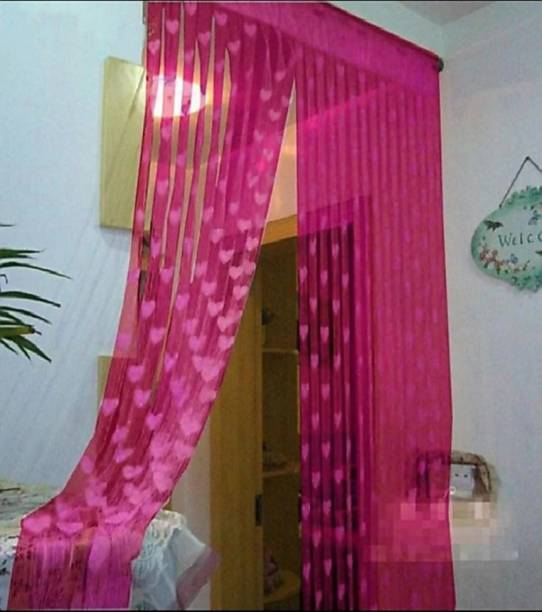DTODEXPRESS 213.3 cm (7 ft) Polyester Door Curtain Single Curtain
