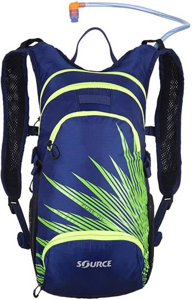Source Outdoor Fuse 3L Hydration System / 12L Cargo Pack, Dark Blue/Green Hydration Pack