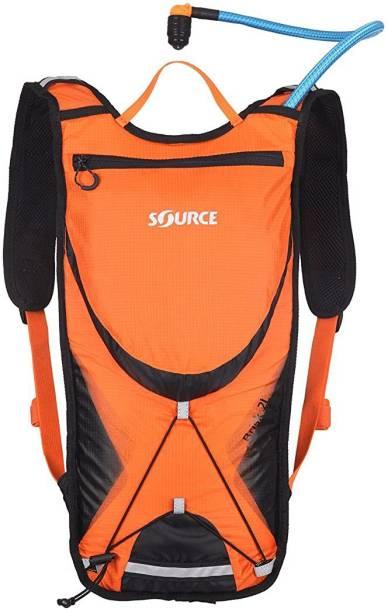 Source Outdoor Brisk Hydration Pack Orange/Black 2-Liter Hydration Pack