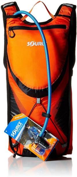 Source Brisk 3L Hydration Pack Orange/Black Hydration Pack