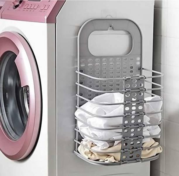 Wengvo 3 L Grey Laundry Basket