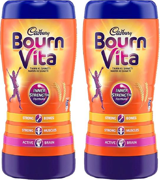 Cadbury Bournvita Bournvita Inner Strength Formula 1 Kg Pack of 2