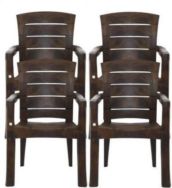 Restomatt world Plastic Outdoor Chair