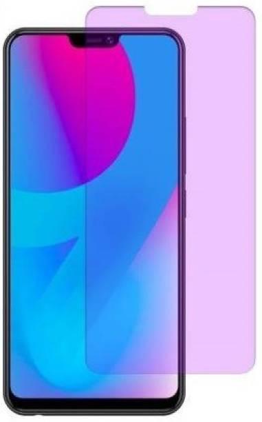FlipSmartGuard Edge To Edge Tempered Glass for Vivo V9 Pro, Vivo V9, Vivo V9 Youth, Vivo Y81, Vivo Y81i, Vivo Y83, Vivo Y83 Pro, Oppo A5, Oppo F7, Oppo A3s, Realme C1, Realme 2, Oneplus 6, Huawei Nova 3i (Anti Blue)