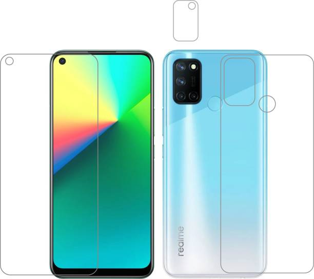 Vatsin Front and Back Screen Guard for Realme 7i