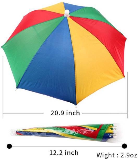 Rainpopson Kids & Men Hat Umbrella