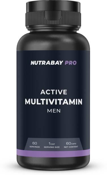 Nutrabay Pro Multivitamin for men - 500mg, 60 Capsules