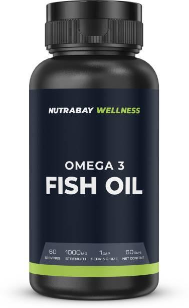 Nutrabay Wellness Fish Oil - 1000mg, 60 Capsules