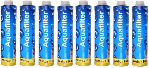GE FILTRATION AquaFilter Candle filter suitable for all water purifier+Sediment Filter,Ro filter candle 9 inch-Pack of 8pcs candle filter Solid Filter Cartridge