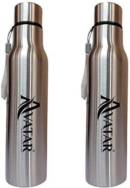 Avatar RAVAN 1000 ML SIDE ROPE STEEL WATER BOTTLE 1000 ml Bottle